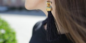 Make These Luxe Tassel Earrings at Home