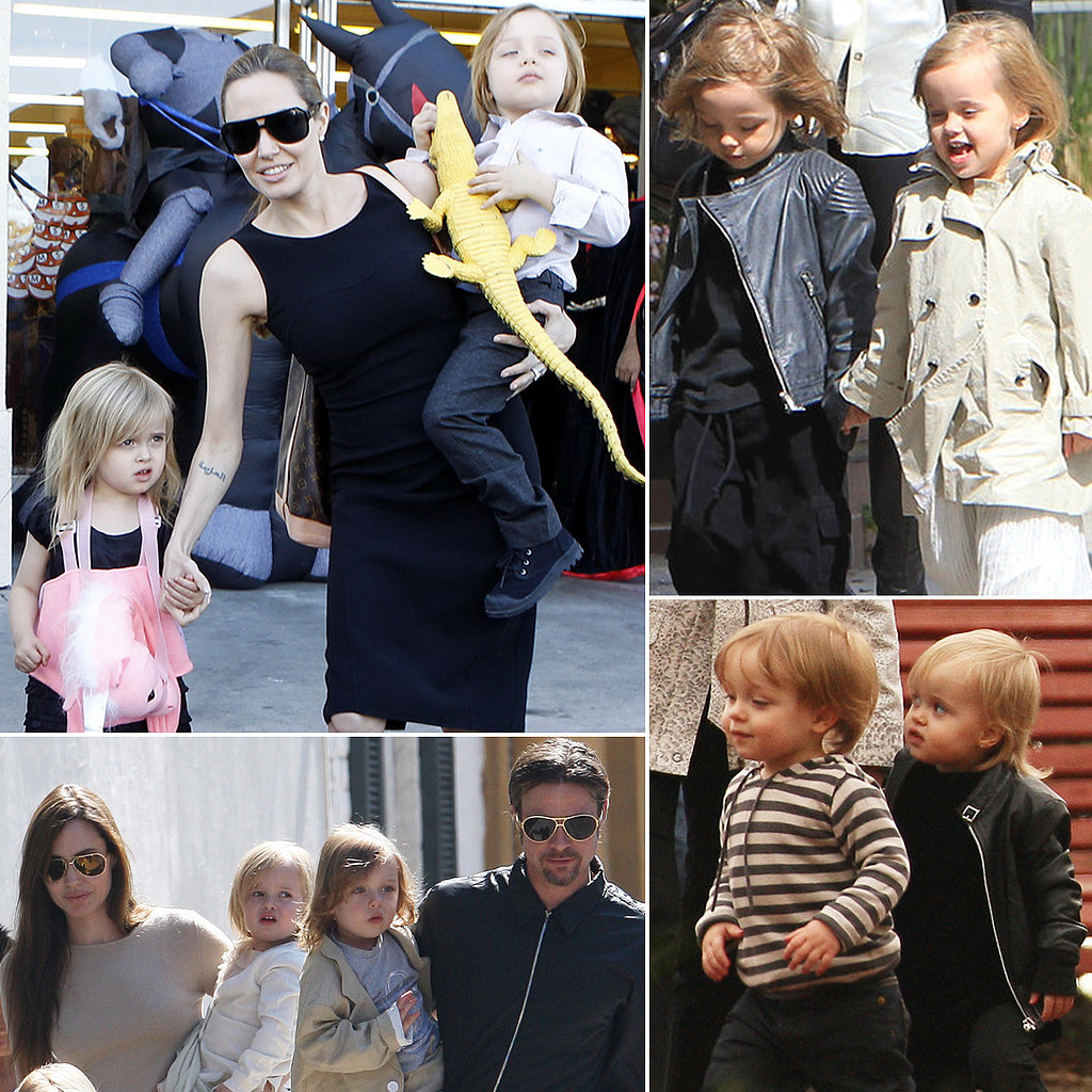 Angelina Jolie Kids 2014 Twins Share This Link