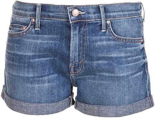 Mother Denim Cuffed short