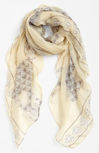 Evelyn K Skull & Diamond Scarf
