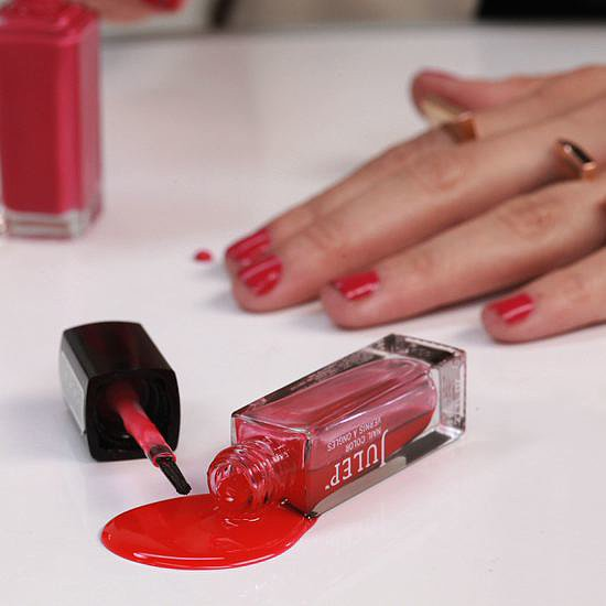 how to get nail polish stains out of clothes video popsugar beauty. Black Bedroom Furniture Sets. Home Design Ideas