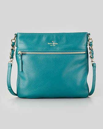 Kate Spade New York Cobble Hill Ellen Crossbody Bag, Emerald