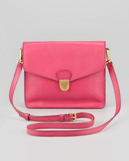 MARC by Marc Jacobs Top Chicret Flap Crossbody Bag, Fuchsia