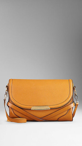 Small Grainy Leather Crossbody Bag