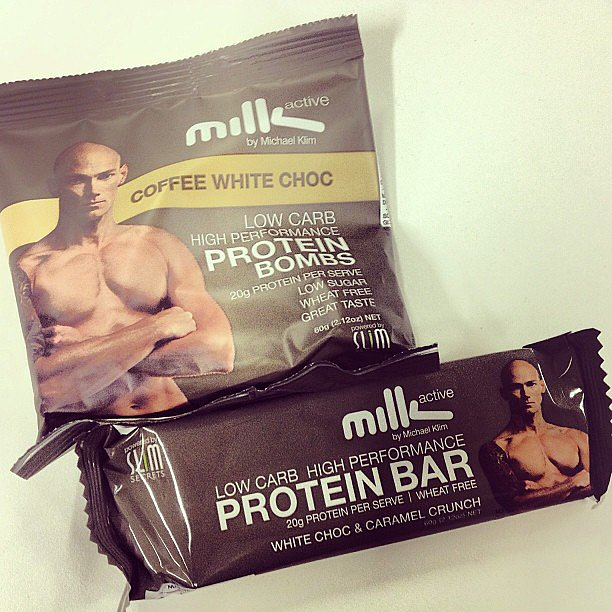 Who better to recommend protein snacks than Olympian Michael Klim? His Milk & Co. protein bars and bombs are the perfect scratch for that 3:30pm itch.
