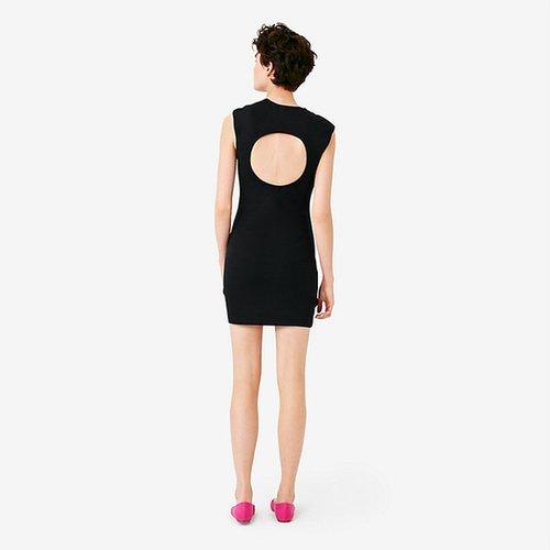 Circle-Back Slimster Ponte Dress