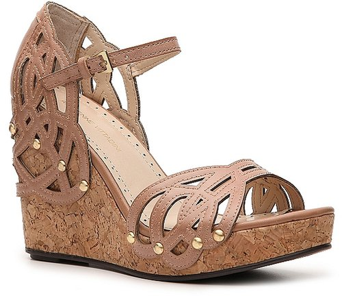 Adrienne Vittadini Clementine Wedge Sandal