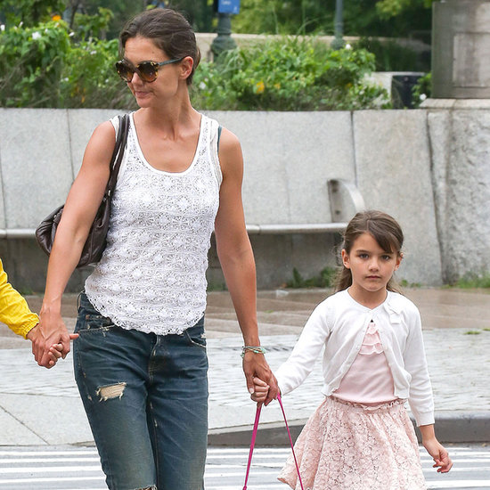 Katie Holmes and Suri Cruise at Chelsea Piers   Photos