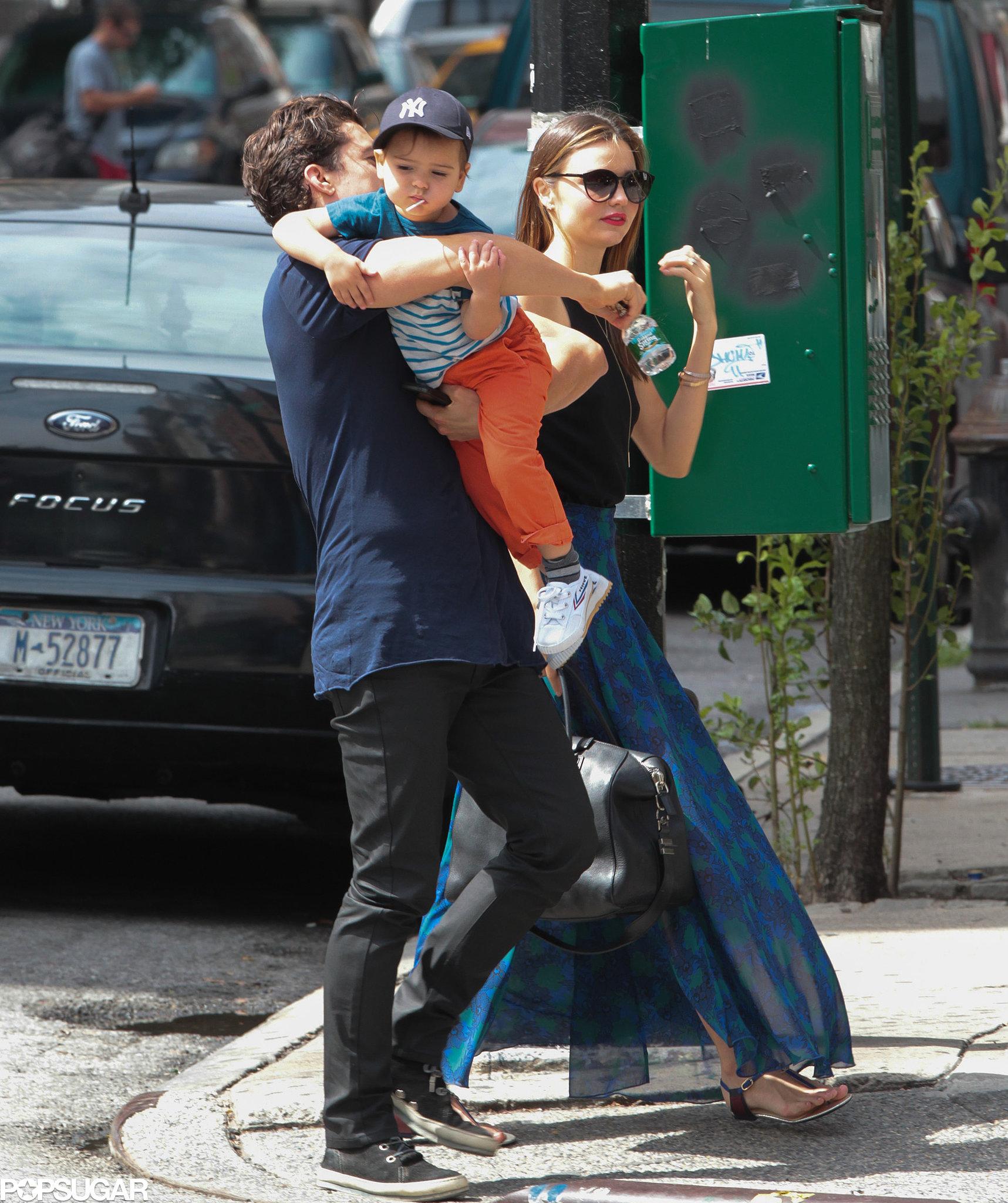 Orlando Bloom Grabs a Sweet Treat With Flynn