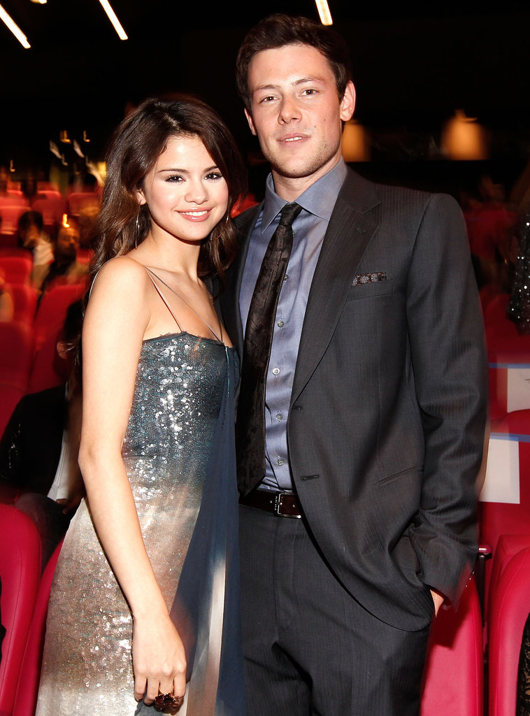 Cory Monteith and Selena Gomez chatted at the 2010 Hollywood Style Awards in Las Vegas.