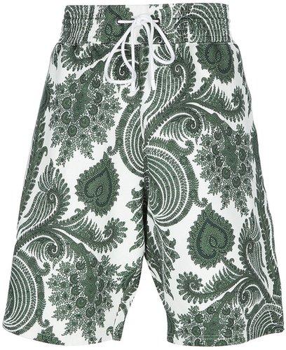 Givenchy paisley print shorts