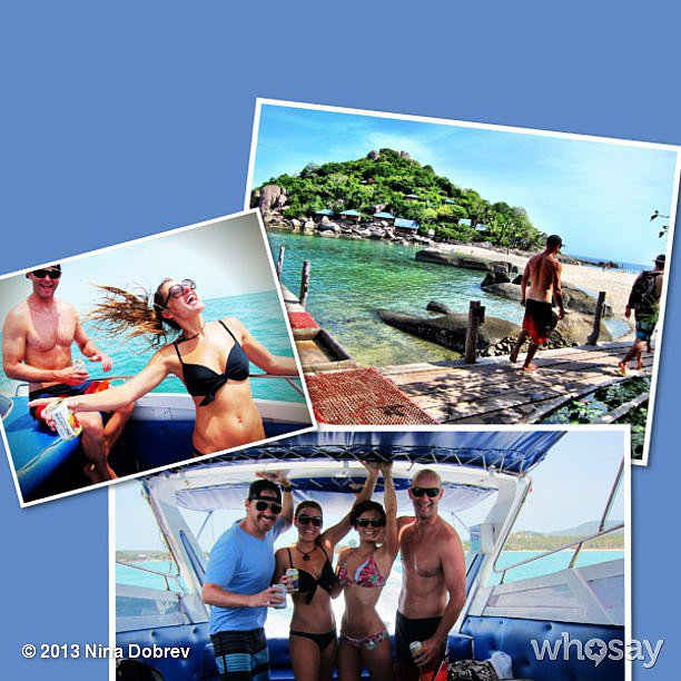 Nina Dobrev had a bunch of fun in the sun! Source: Nina Dobrev on WhoSay