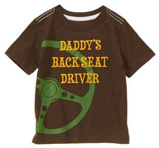 Daddys Backseat Driver Tee