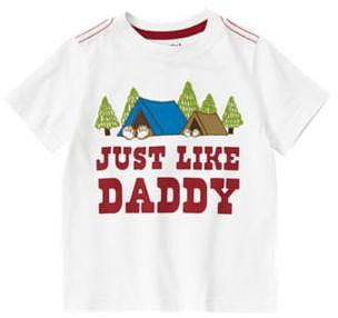 Just Like Daddy Camping Tee