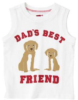 Dads Best Friend Puppy Tank