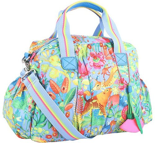 Oilily - Animal Tope Utility Bag (Blue) - Bags and Luggage