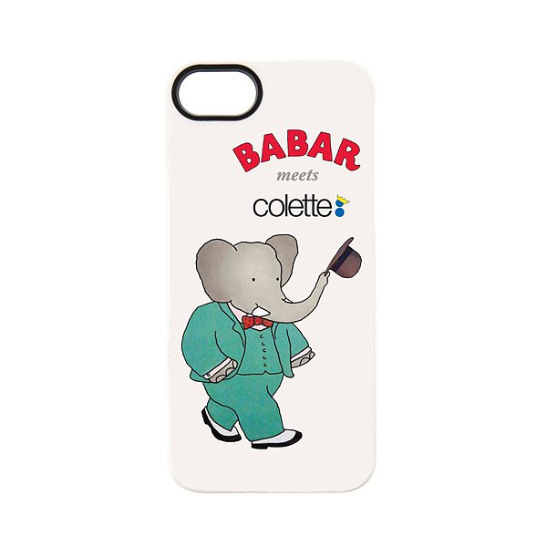 Give a nod to the most dapper elephant the world has seen with a Babar iPhone 5 case ($46).