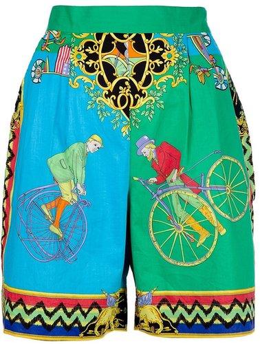 Versace Vintage Printed shorts