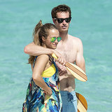 Andy Murray Shirtless With Kim Sears at Beach in Ibiza