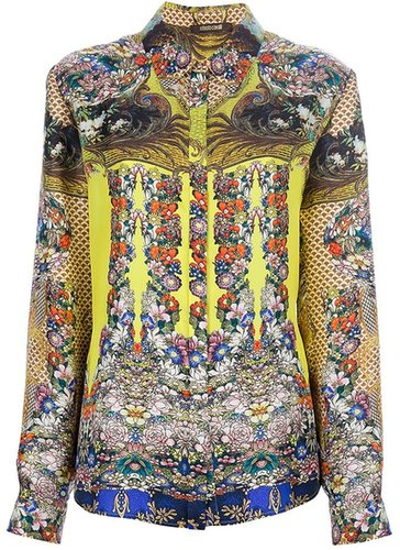 Roberto Cavalli printed shirt