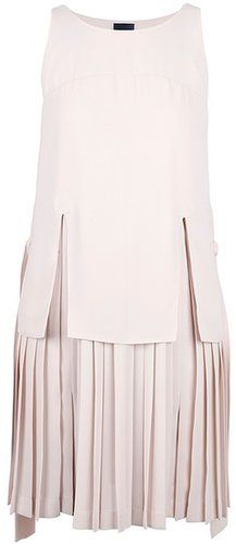 Fendi fringed sleeveless dress