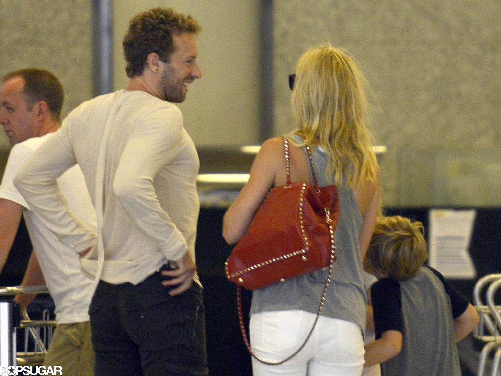 Gwyneth Paltrow Mixes Bikini Time With Family Bonding in Spain