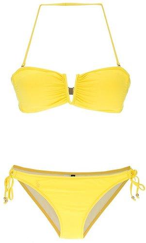 Ralph Lauren Blue halterneck bikini