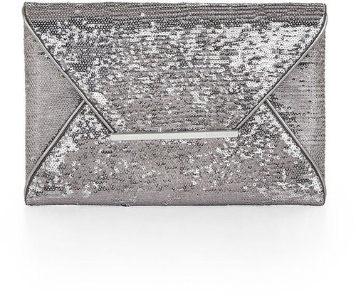 Matte-Sequined Harlow Envelope