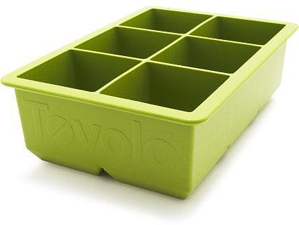 Tovolo King Cube Ice Tray, Green