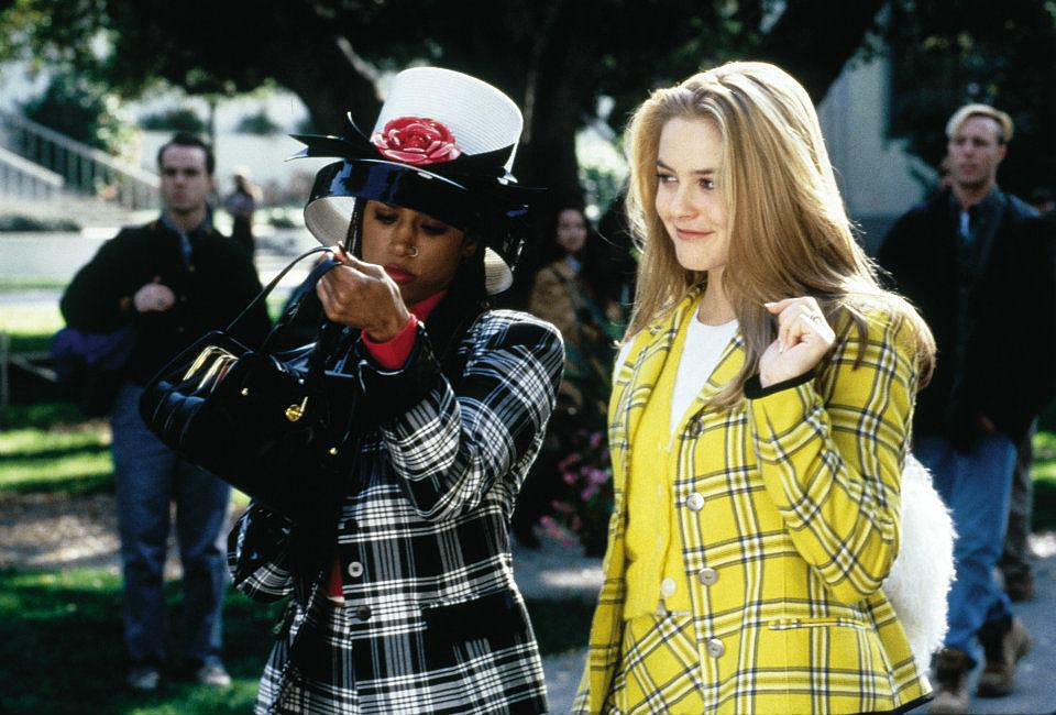 """""""Dionne and I were both named after famous singers of the past who now do infomercials."""" They also roamed campus together in killer plaid. Source: Facebook user Clueless"""