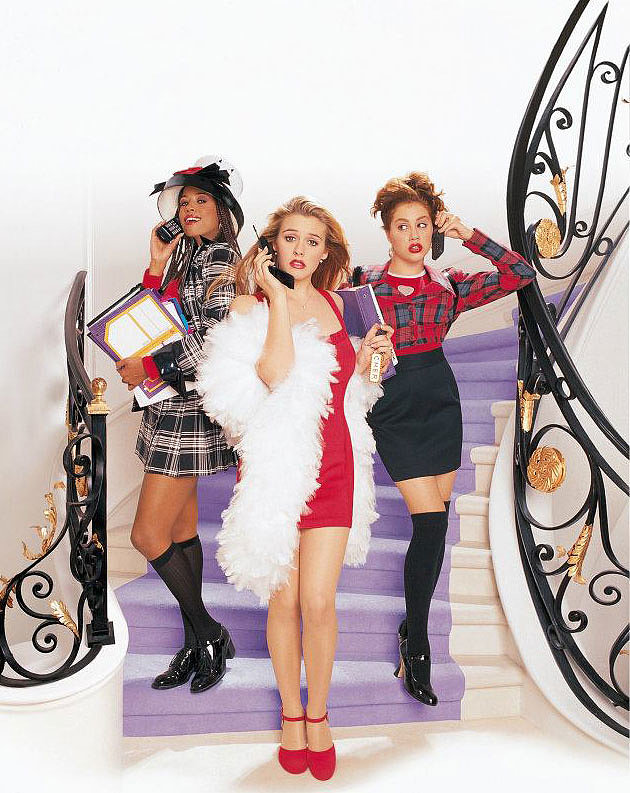 Epic fashion — from the '90s plaid to Cher's white boa, we highly encourage you to revisit the characters' iconic wardrobes. No, we can't hook you up with an actual Alaïa LRD, but you can still get the look. Source: Facebook user Clueless