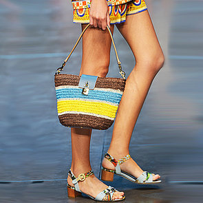 Straw Bags and Shoes