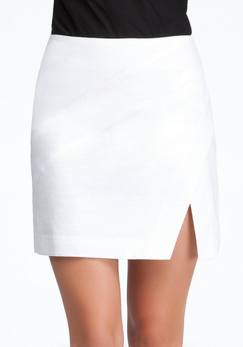 High Slit Geometric Skirt