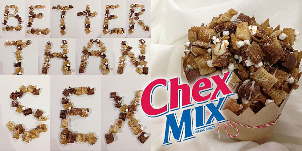 Chocolatey Chex Mix That's Better Than Sex