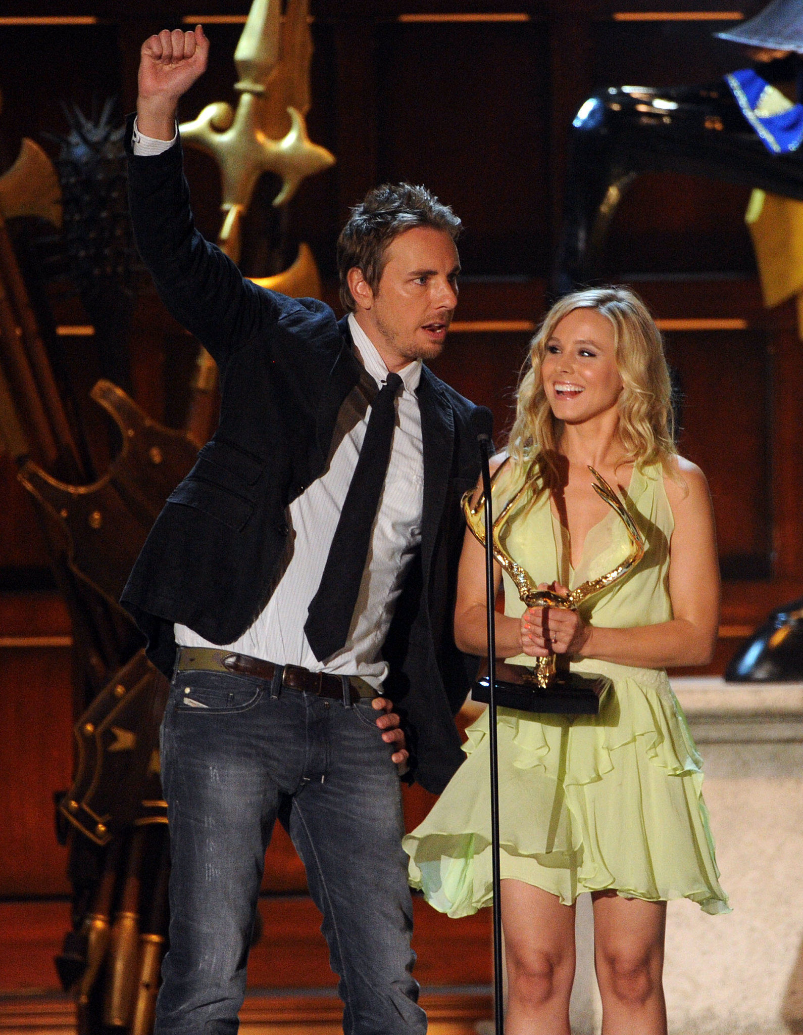 The cute couple took the stage at the June 2012 Guys Choice Awards.