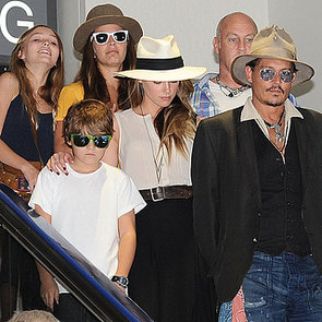 Amber Heard With Johnny Depp and Kids | Pictures