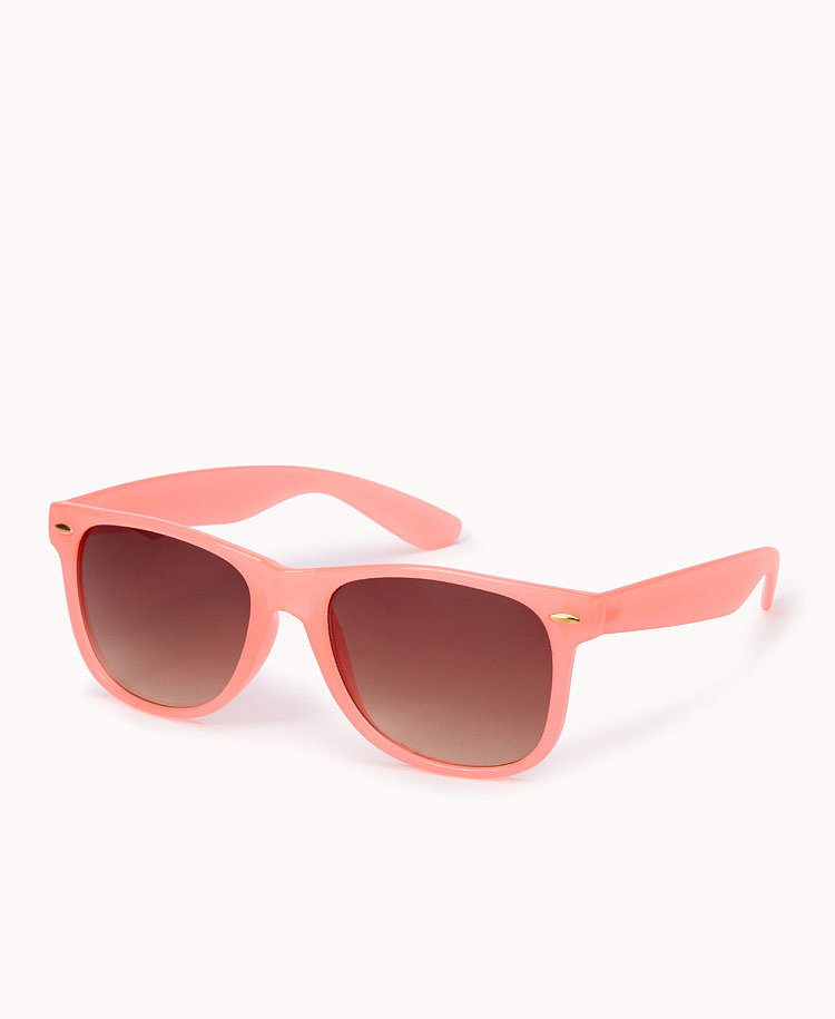 Forever 21's muted pink ($6) feels spot on for Summer styling.