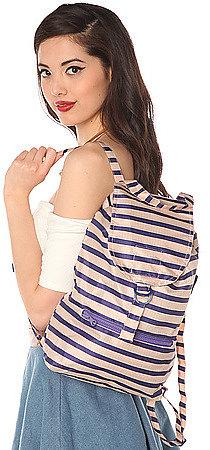 Baggu The Daypack in Stripe Blush
