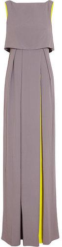 Roksanda Ilincic Orianne two-tone crepe gown
