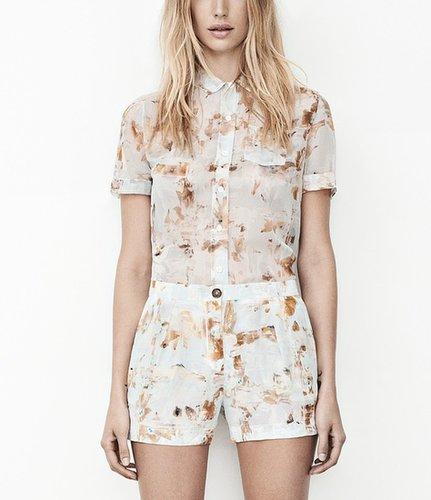 Fleur Check Shirt