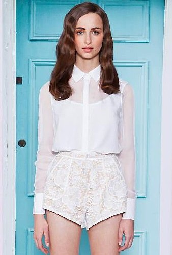 Cameo Cameo When It Started Shirt in White-SALE!!