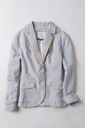 Striped Sunglow Blazer