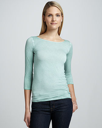 NM Luxury Essentials Marrow-Edge Top