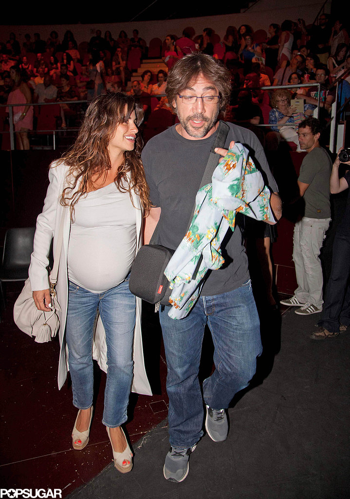 Pregnant Penélope Cruz Snaps Sweet Photos of Her Bongo-Playing Hubby