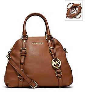 MICHAEL Michael Kors® Large Bedford Leather Bowling Satchel