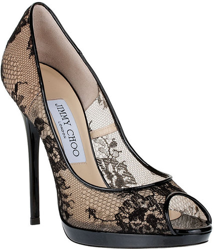 Jimmy Choo Quiet lace platform pump