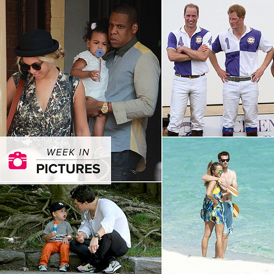 The Week in Pictures: Beyoncé, Jay Z & Blue, The Princes, Orlando & Flynn and More!