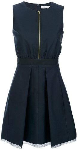 Victoria Beckham sleeveless zip fastening dress