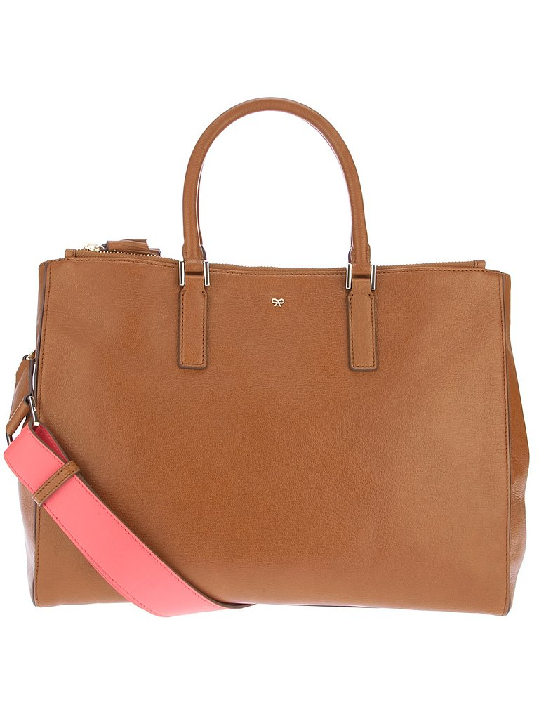 A regular diaper bag doesn't feel quite posh enough for Kate. Instead, we could see her carrying this Anya Hindmarch tote ($1,336) stuffed with the little one's necessities.