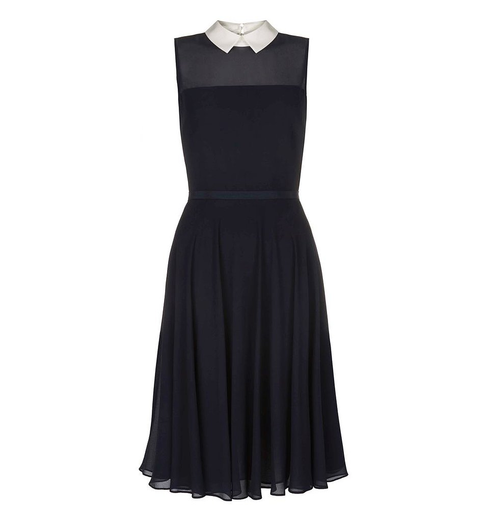 The white collar of this navy Hobbs pick ($197) makes for a sweet touch that would look adorable on the glowing new mom.